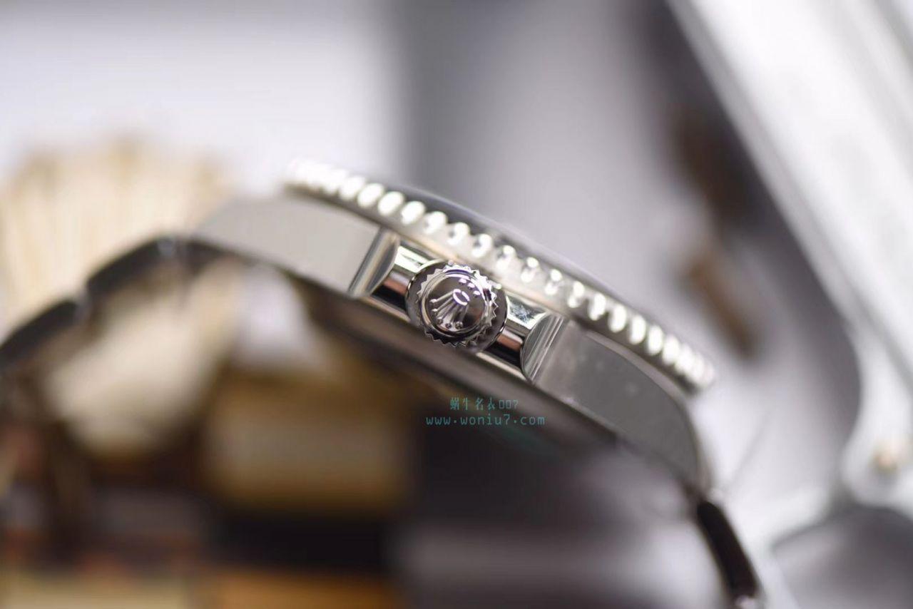【独家视频评测AR一比一超A高仿手表】劳力士ROLEX海使型系列Rolex Sea-Dweller 50周年126600 单红43毫米腕表 / RBG194