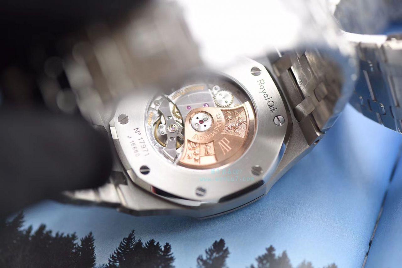 【视频测评JF一比一超A高仿手表】爱彼皇家橡树系列15400ST.OO.1220ST.03《蓝面》男表
