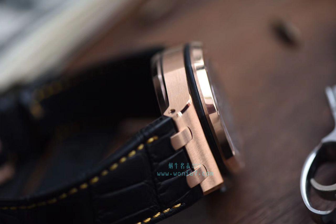 【视频评测JF厂1:1精仿表】爱彼皇家橡树离岸型系列26470OR.OO.A002CR.01腕表