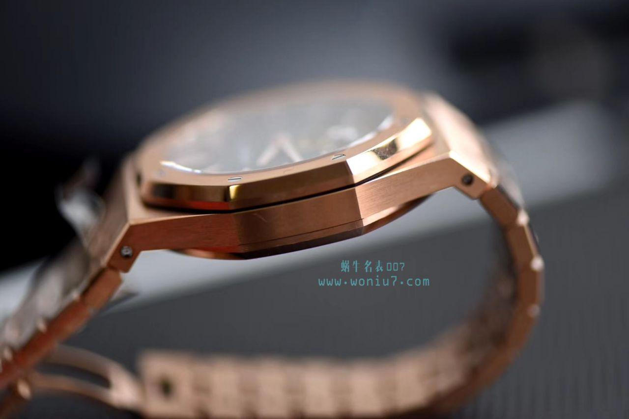 【JF超A高仿手表】爱彼皇家橡树系列26515OR.OO.1220OR.01腕表、26510OR.OO.1220OR.01腕表