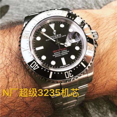 【N厂放大招~超级神器】劳力士海使型系列单红126600腕表,顶级复刻