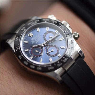 劳力士宇宙计型迪通拿系列116509 蓝盘腕表【NOOB厂一比一顶级复刻手表】价格报价
