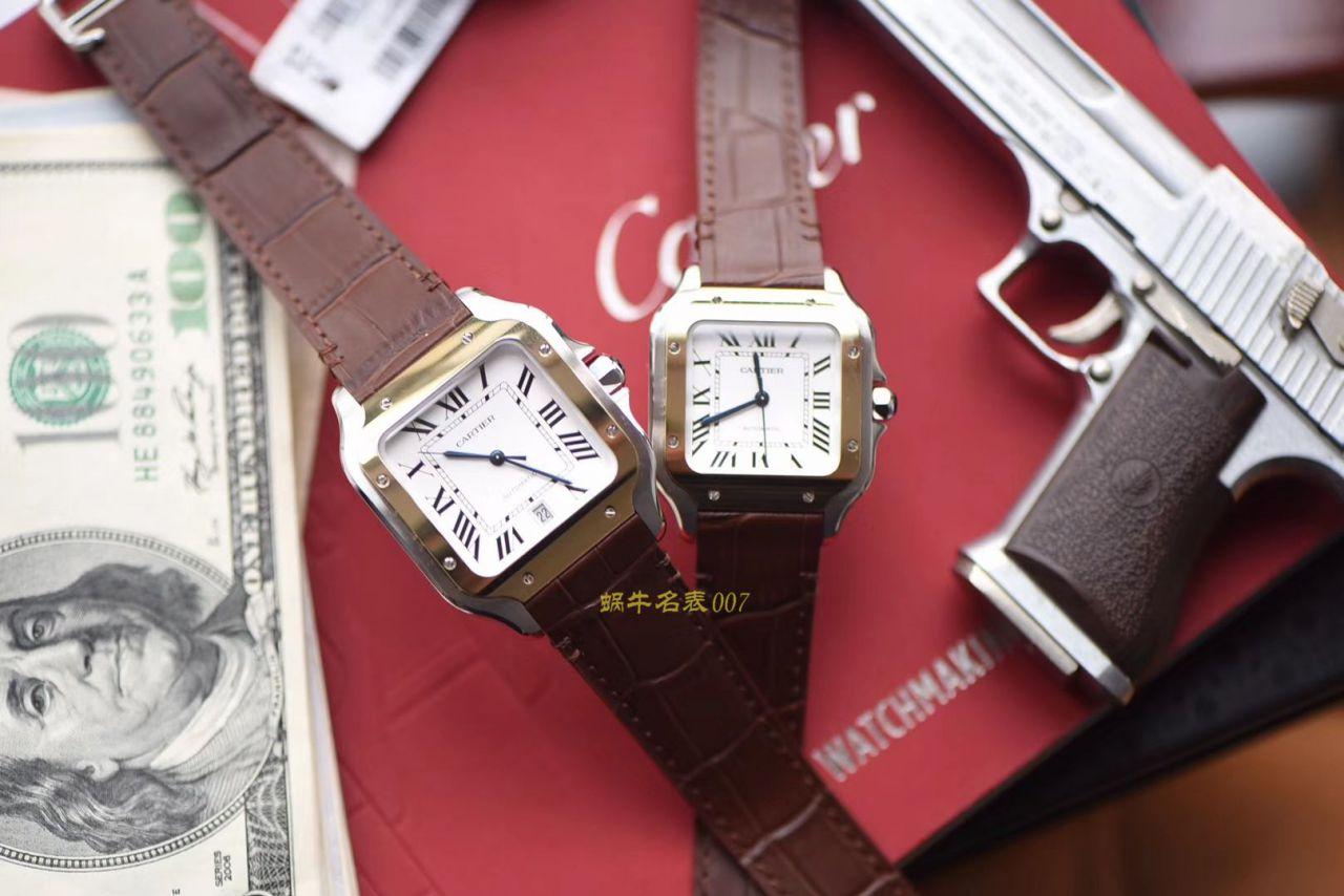 卡地亚山度士系列W20072X7腕表、W20107X7男女情侣腕表【V6一比一超A高仿手表】 / K190
