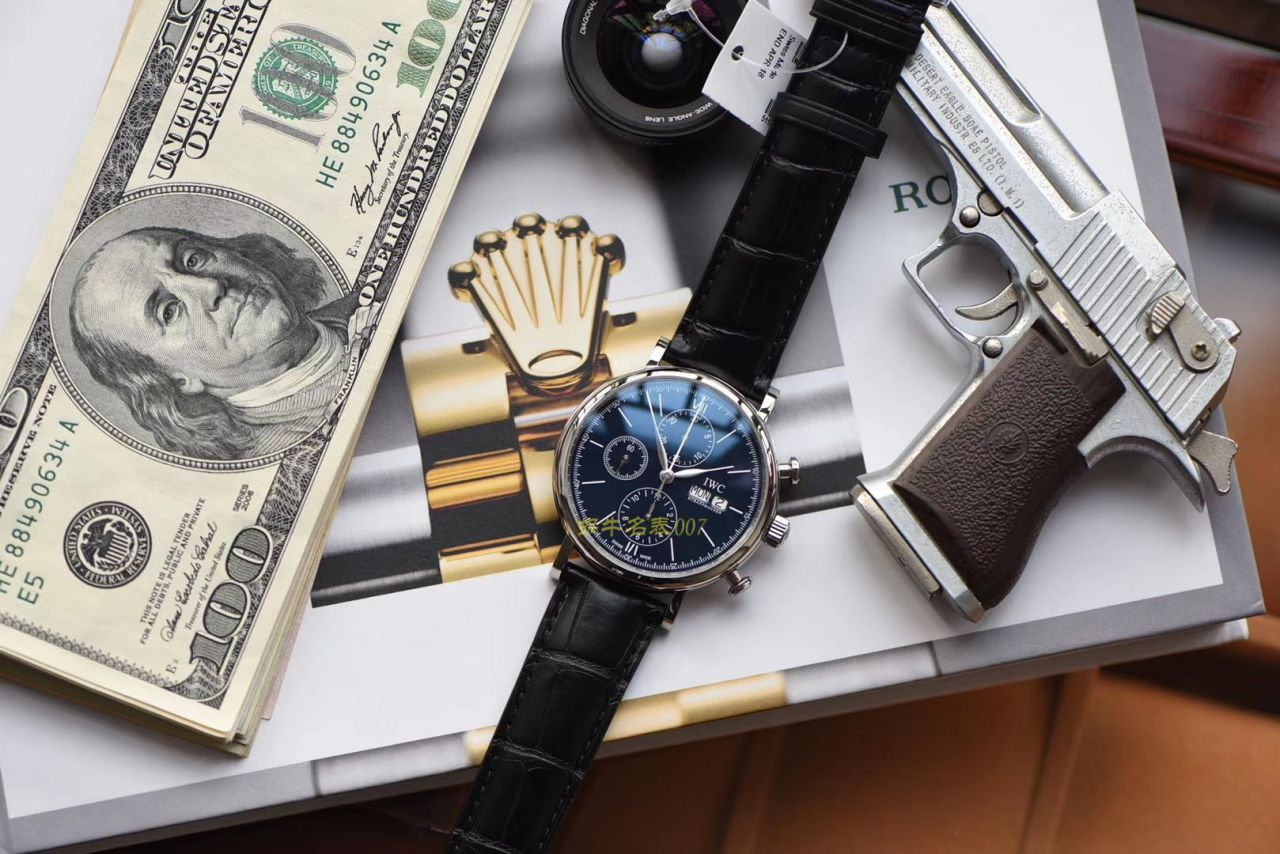 【原单】万国表柏涛菲诺系列150周年纪念版IW391024、IW391023腕表