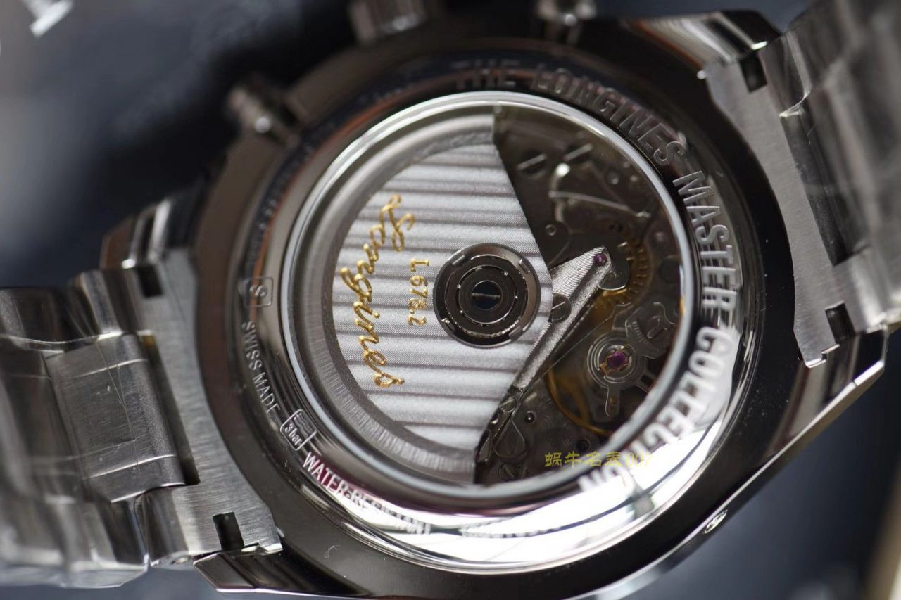 【视频评测YL工厂超A1:1精仿手表】浪琴名匠专柜最新款 L2.773.4.78.6月相男表(自动锤L678.2刻字) / L060