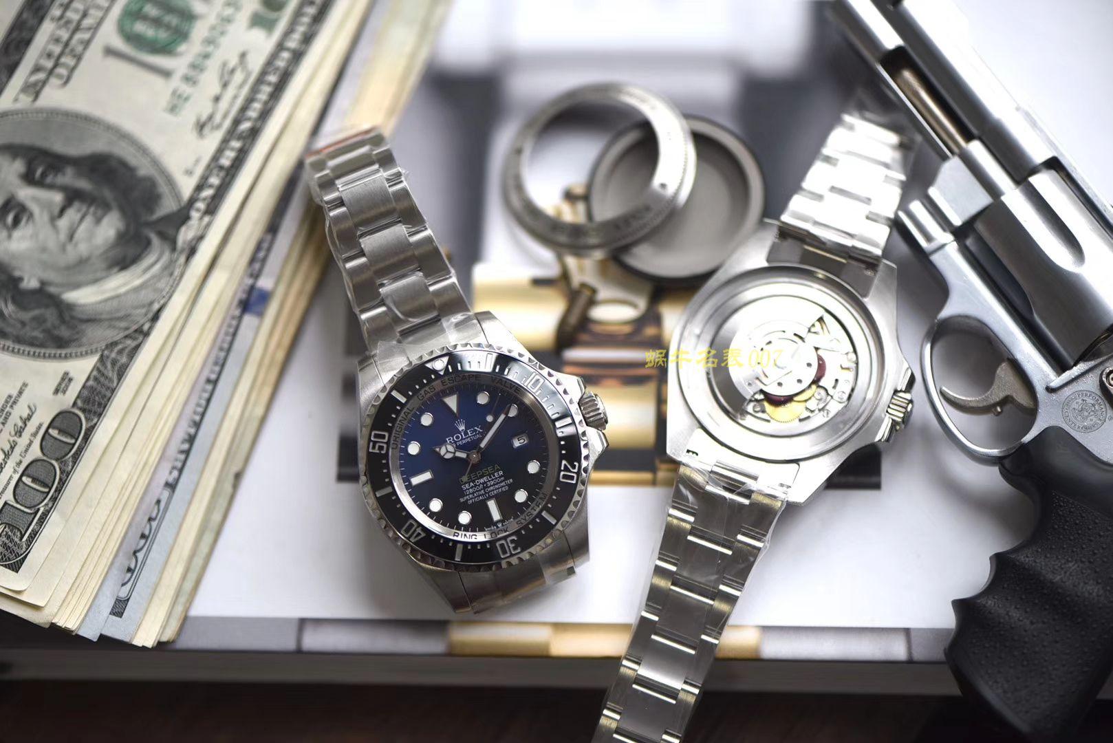 劳力士海使型系列m126660-0002腕表【台湾厂高仿手表劳力士渐变蓝】 / R276