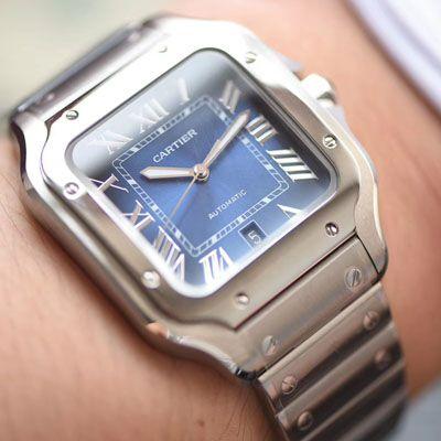 卡地亚山度士系列WSSA0013(大号)腕表【KOR一比一高仿手表】价格报价