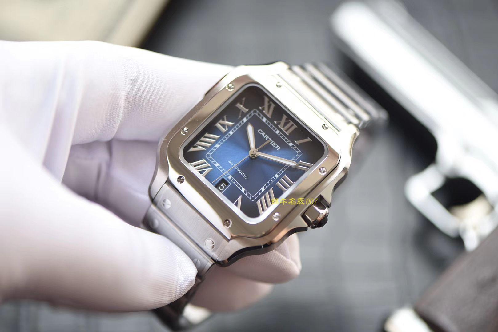 卡地亚山度士系列WSSA0013(大号)腕表【KOR一比一高仿手表】