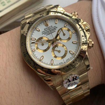 劳力士宇宙计型迪通拿系列m116508-0001腕表【AR高仿劳力士手表】