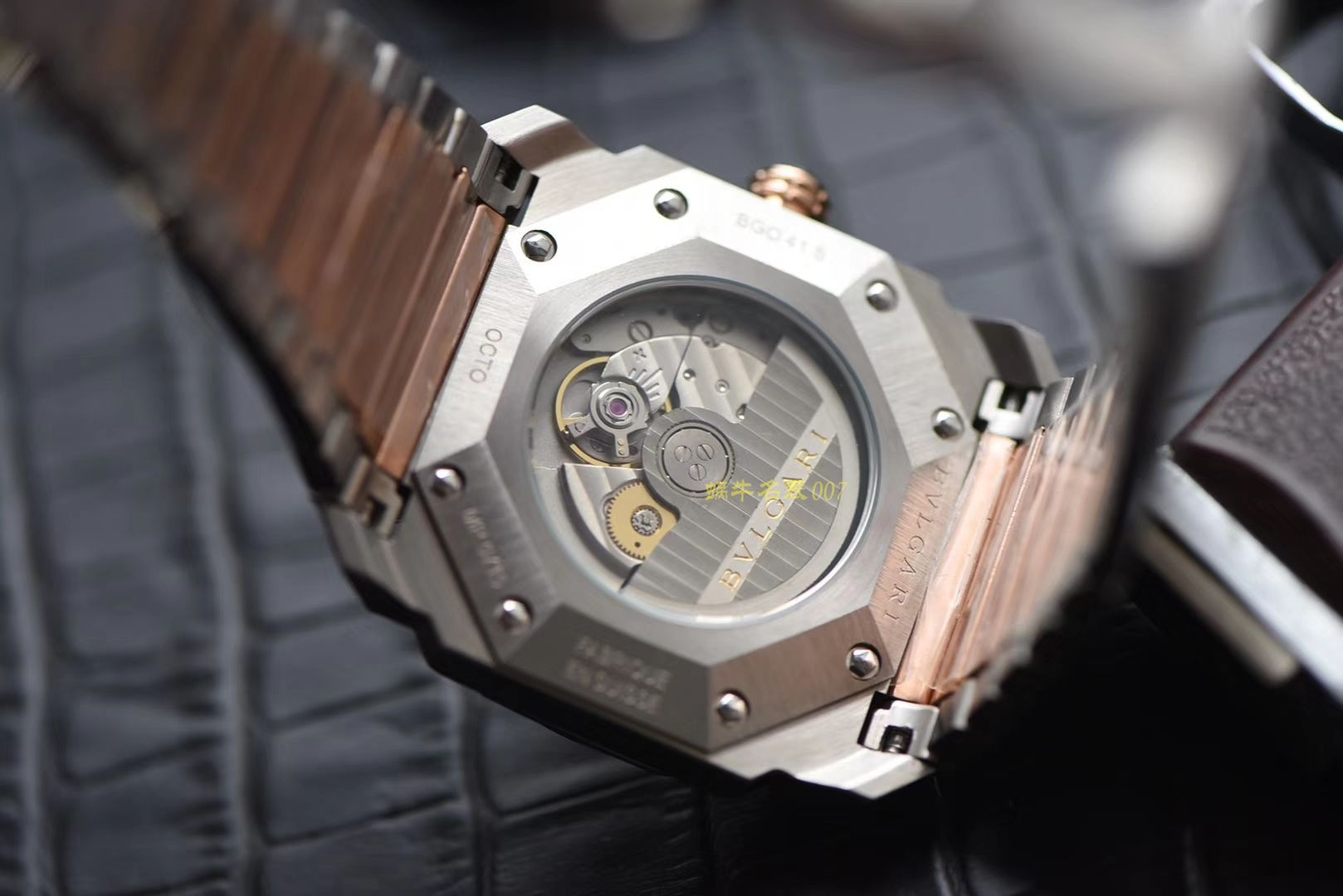 宝格丽OCTO系列102118 BGO38WSPGD腕表【台湾厂一比一复刻手表】 / BG023