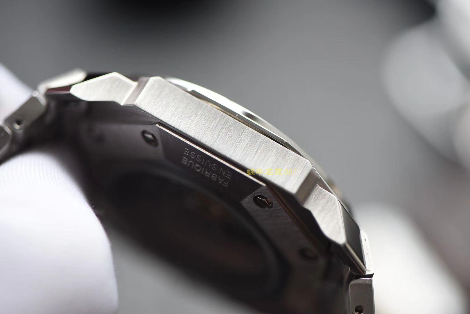 宝格丽OCTO系列102779 OC41C6SLD腕表【台湾厂高仿手表】 / BG026