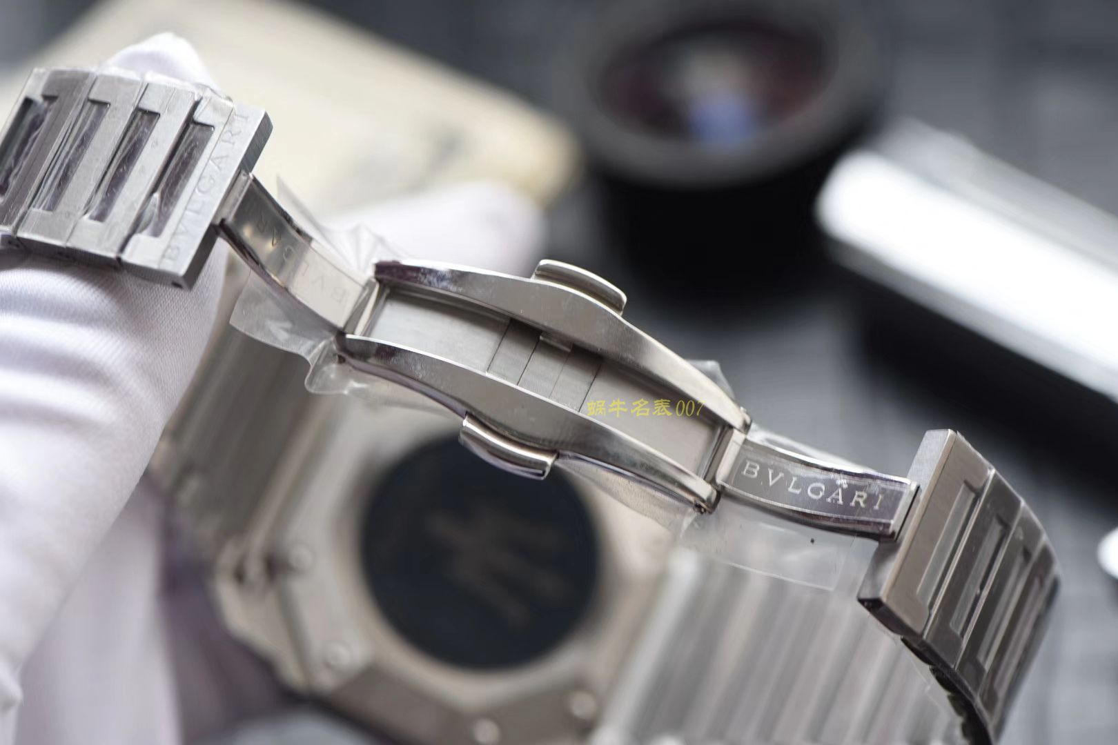 宝格丽OCTO系列102116 BGO41BSSDCH腕表【台湾厂一比一精仿手表】