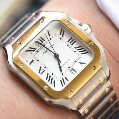 卡地亚山度士系列W2SA0006(大号)腕表【KOR一比一超A复刻手表】价格报价