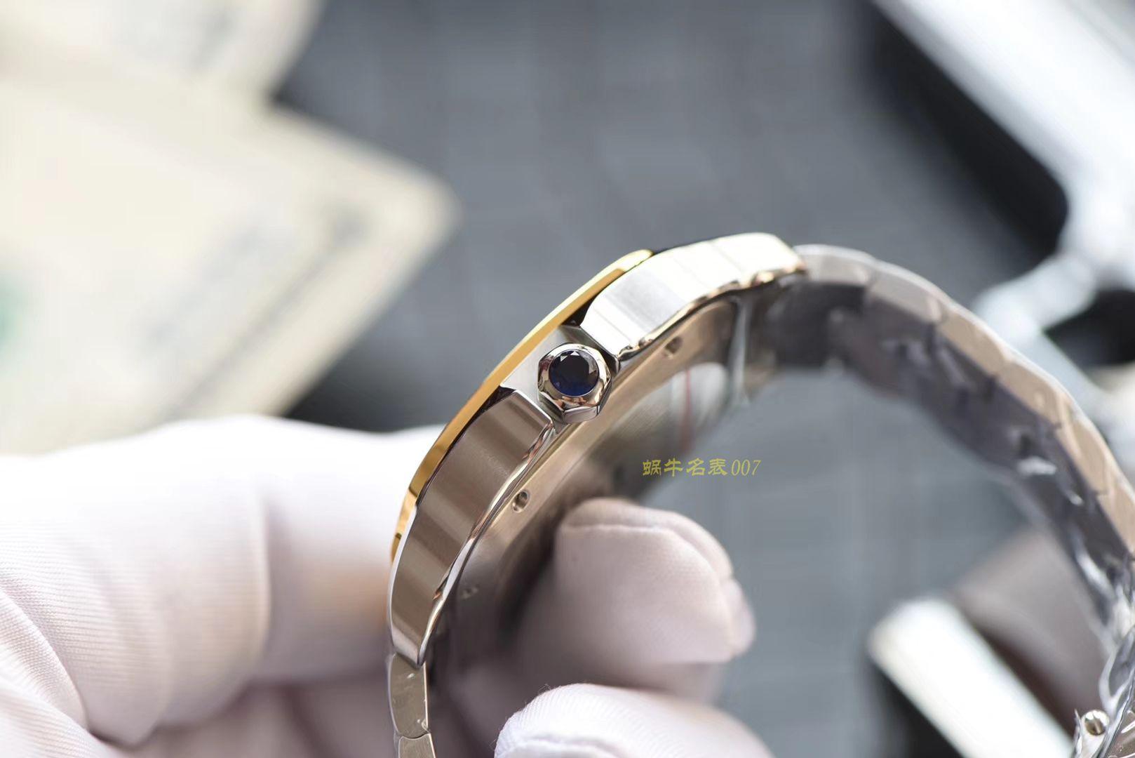卡地亚山度士系列W2SA0006(大号)腕表【KOR一比一超A复刻手表】