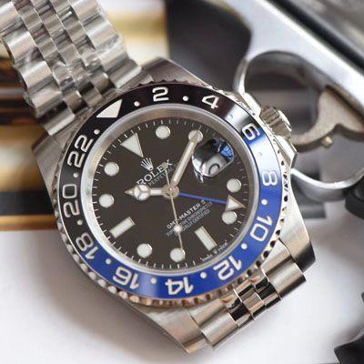 劳力士格林尼治型II系列m126710blnr-0002(五珠链),116710BLNR-78200可乐圈腕表(DJ顶级复刻手表)