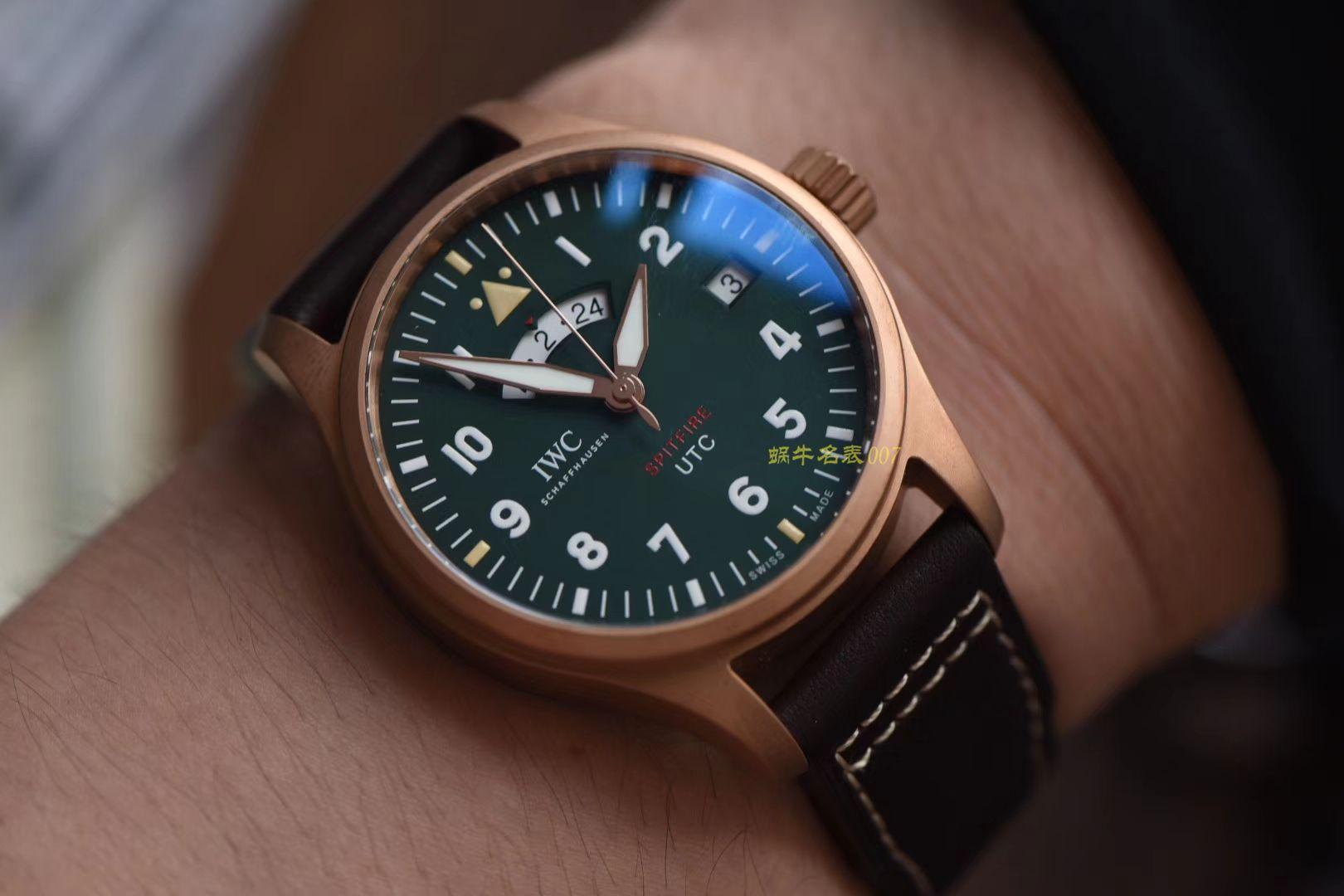 【XF超A高仿手表】IWC万国表飞行员系列IW327101腕表,青铜喷火战机飞行员