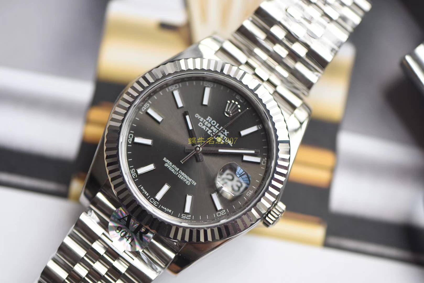 【AR一比一超A克隆手表】劳力士日志型DATEJUST系列126334腕表904钢 / R253