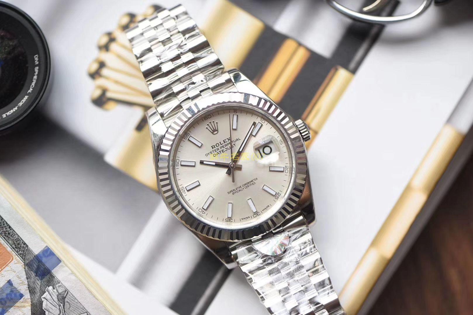【AR一比一超A高仿手表】劳力士日志型DATEJUST系列116334银盘腕表 / R267