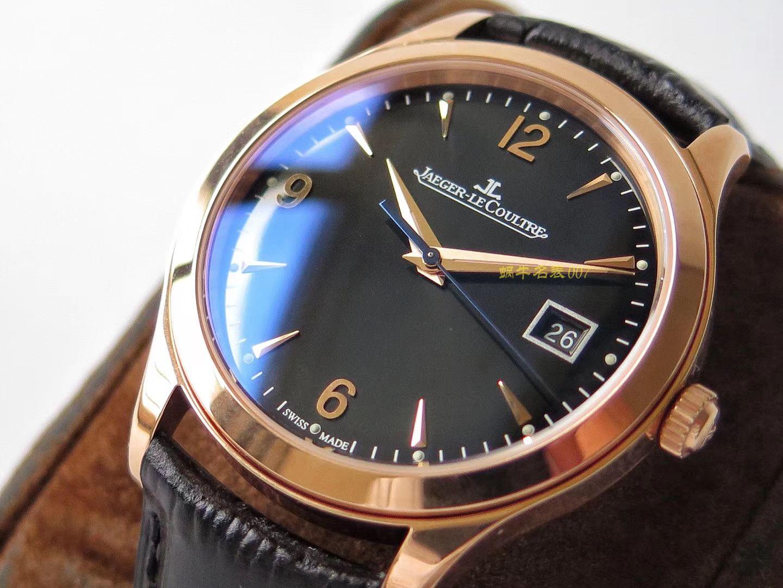 【视频评测ZF一比一超A高仿手表】积家大师系列1548420腕表