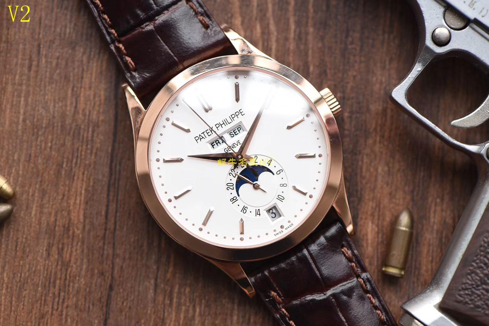【台湾厂一比一顶级高仿手表】百达翡丽复杂功能计时系列5396R 玫瑰金腕表