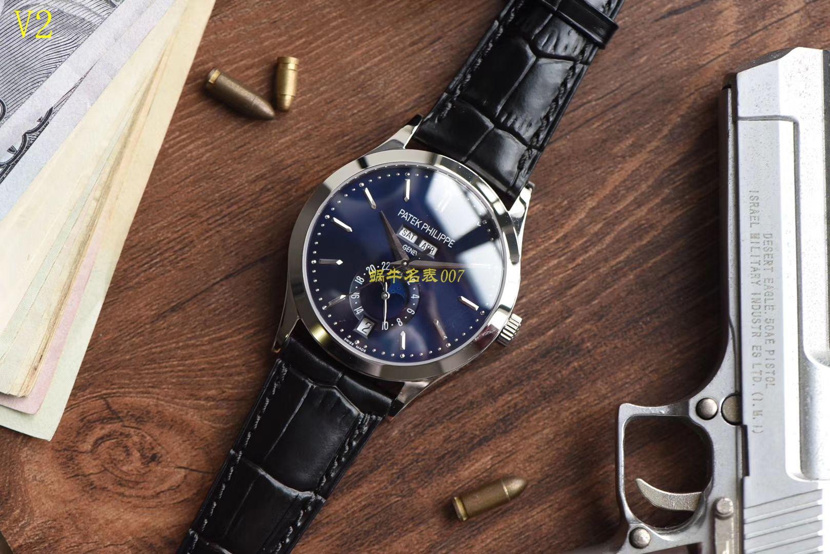 【台湾厂1:1高仿手表】百达翡丽复杂功能计时系列5396G-014男表