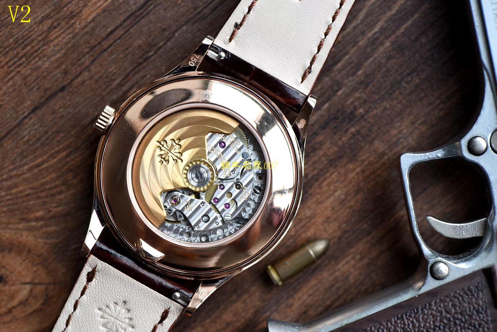 百达翡丽复杂功能计时系列5396R-015腕表【KM一比一高仿手表】