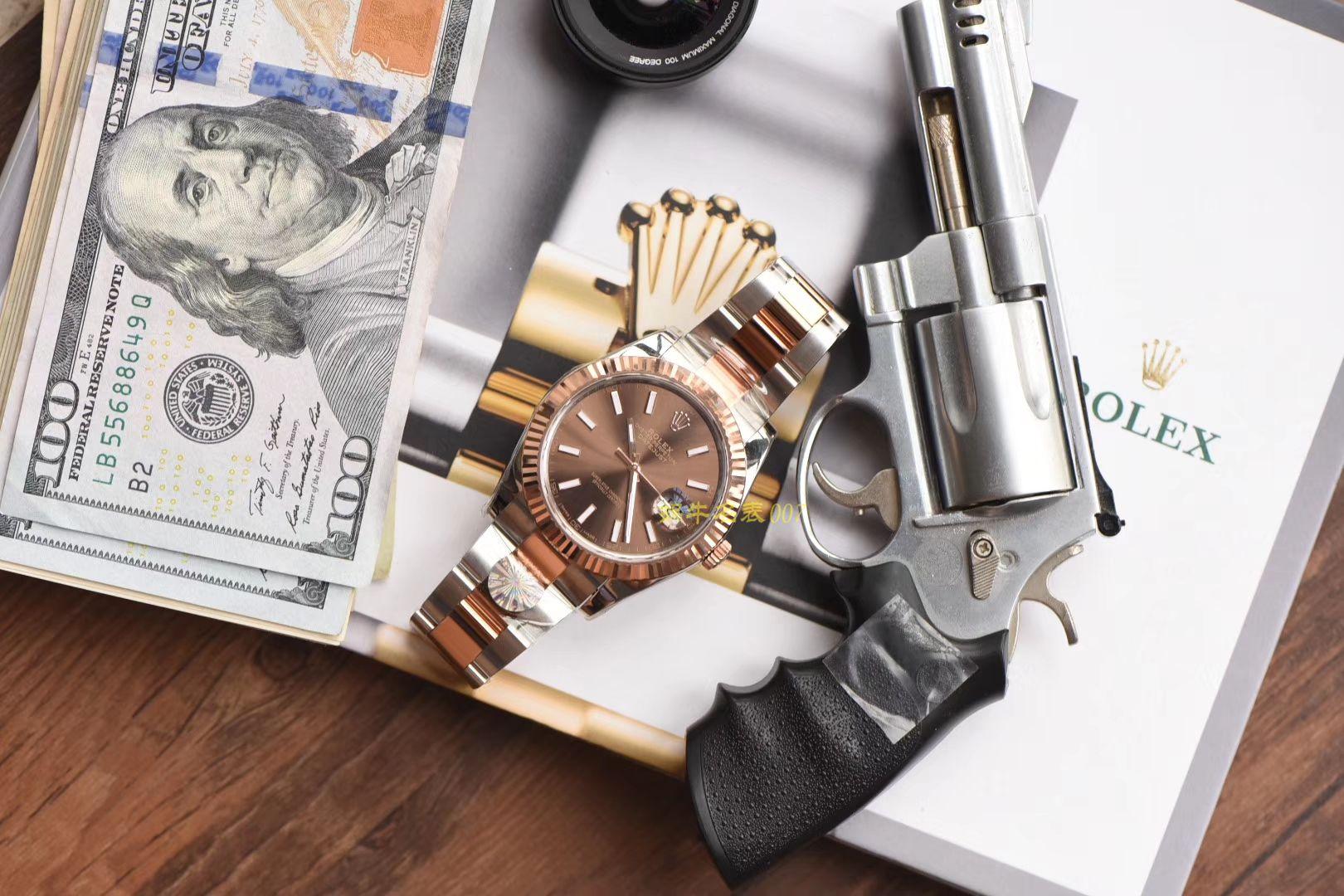 劳力士日志型系列m126331-0001腕表【AR一比一超A高仿手表】 / R292