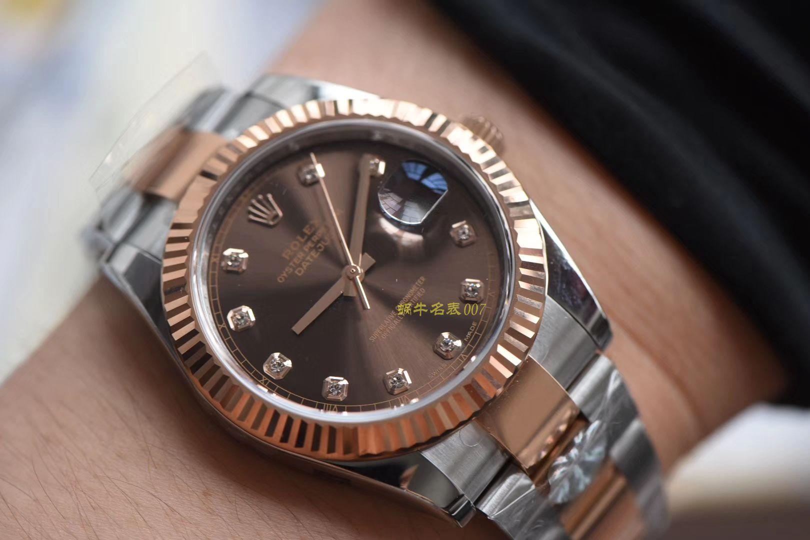 劳力士日志型系列m126331-0003腕表【AR一比一精仿手表】