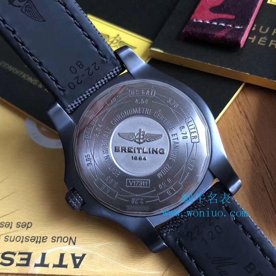 【视频评测专柜原单百年灵复仇者黑鸟】百年灵机械计时系列V1731110/BD74/109W/M20BASA.1腕表