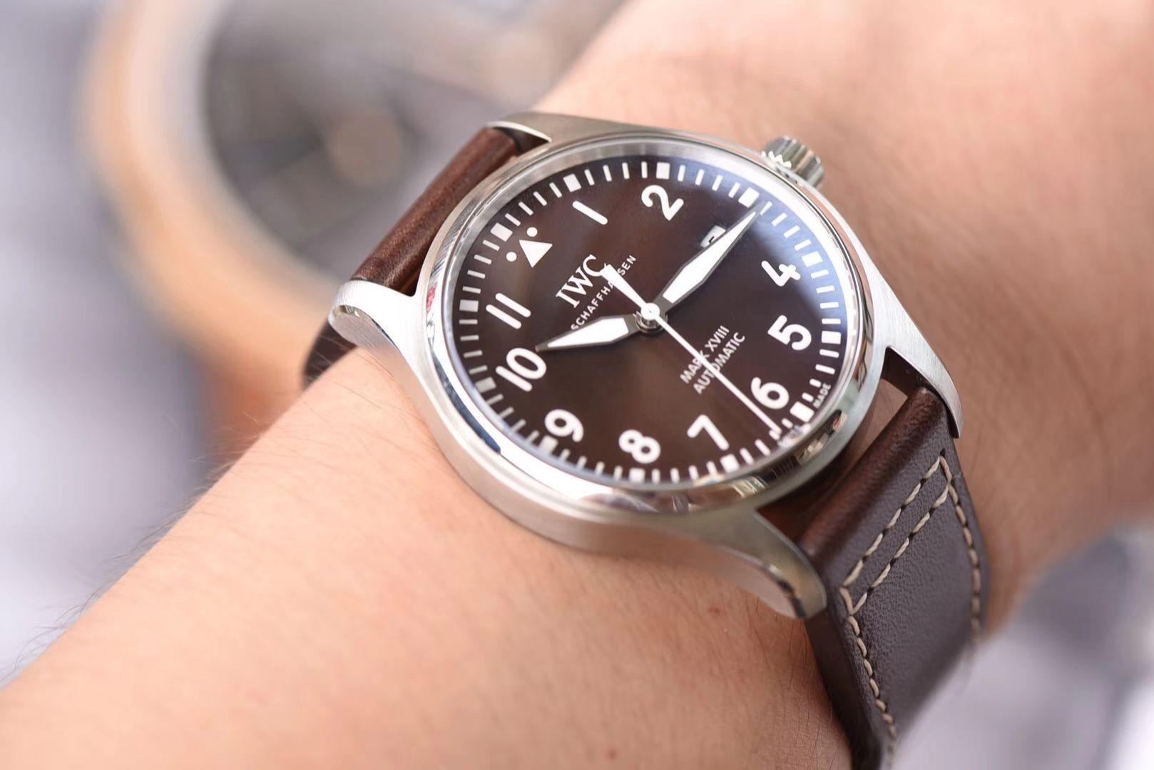 IWC万国表飞行员马克十八系列IW327004腕表(小王子)【V7一比一高仿手表】V7厂重磅力推,良心升级 / WG192
