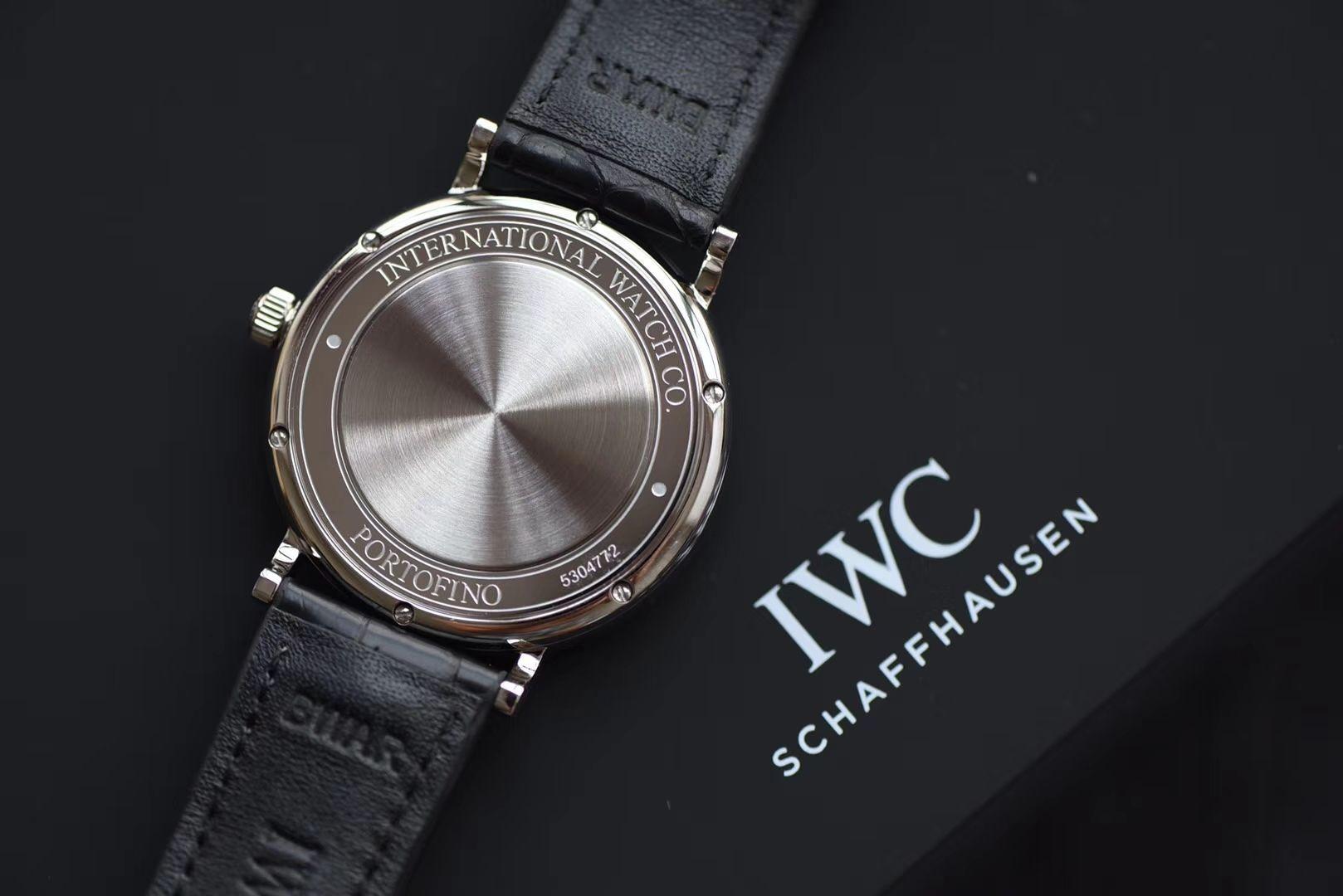 IWC万国表柏涛菲诺系列IW356502腕表【渠道出口订单原单】原封!缺个经销商印章就是正品!