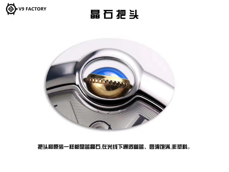 卡地亚蓝气球系列W2BB0003腕表36毫米玫瑰金女装【V9厂18K包金复刻卡地亚蓝气球间金款】 / K206