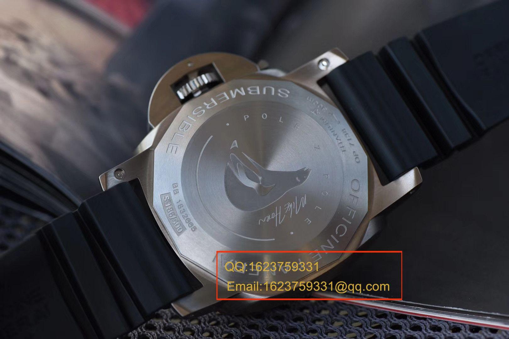 视频评测沛纳海特别版腕表系列PAM00719腕表【VS厂V2最高版本超A高仿手表】