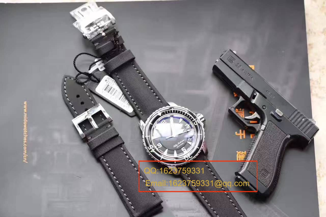 视频评测宝珀五十噚系列5015-1130-52A腕表【ZF厂宝珀五十噚,正品开模一比一复刻】
