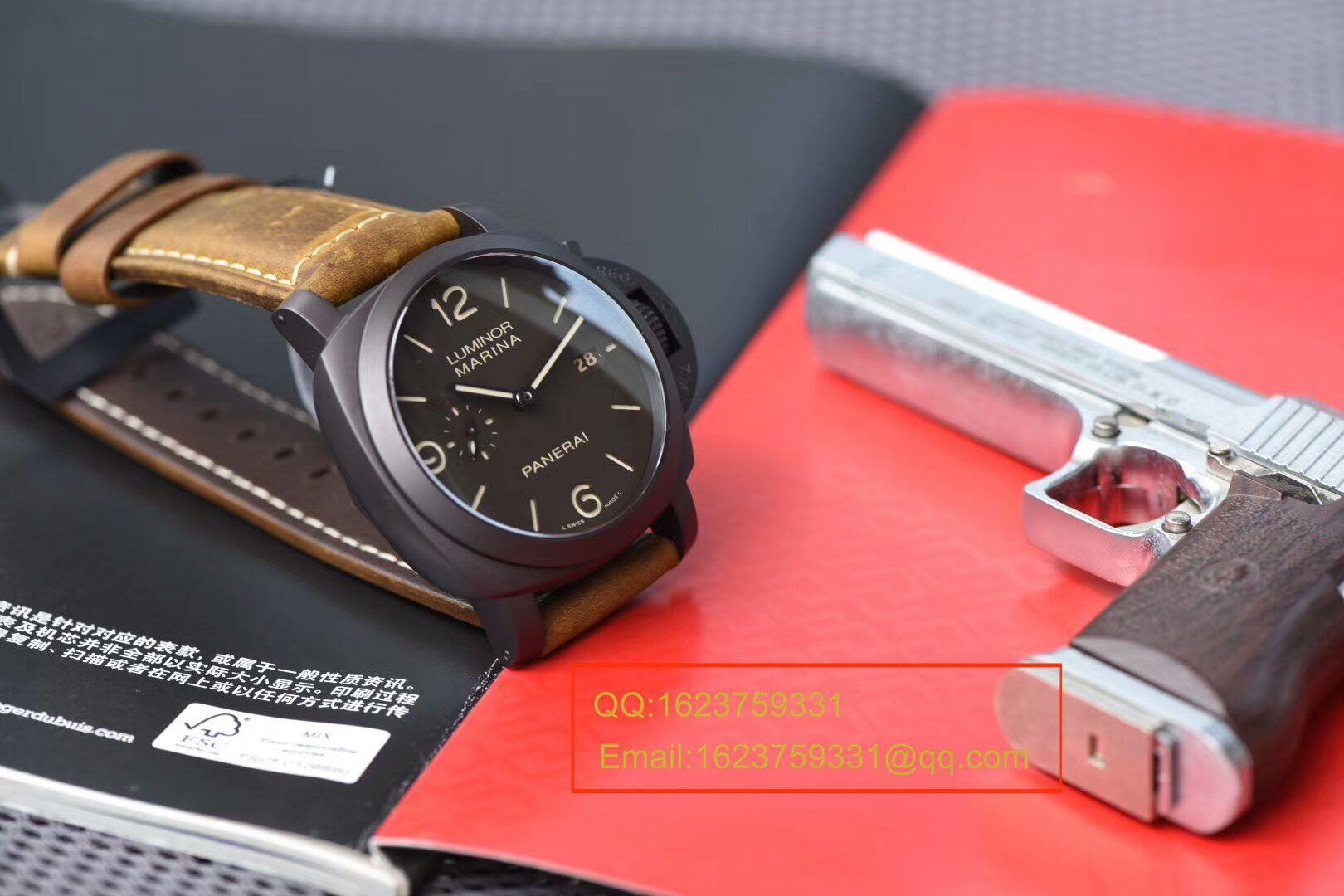 视频评测沛纳海LUMINOR 1950系列PAM 00386腕表【VS厂一比一复刻手表】