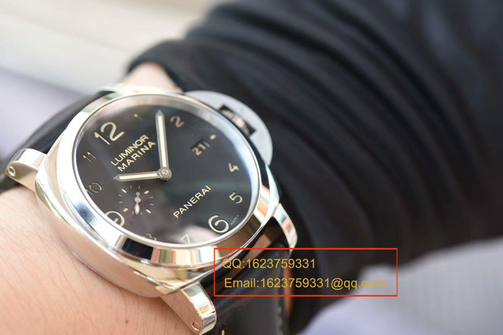 视频评测沛纳海LUMINOR 1950系列PAM 00359腕表一比一高仿手表【VS沛纳海359 V2 版 同步正品机芯功能!】 / VSPAM00359MM