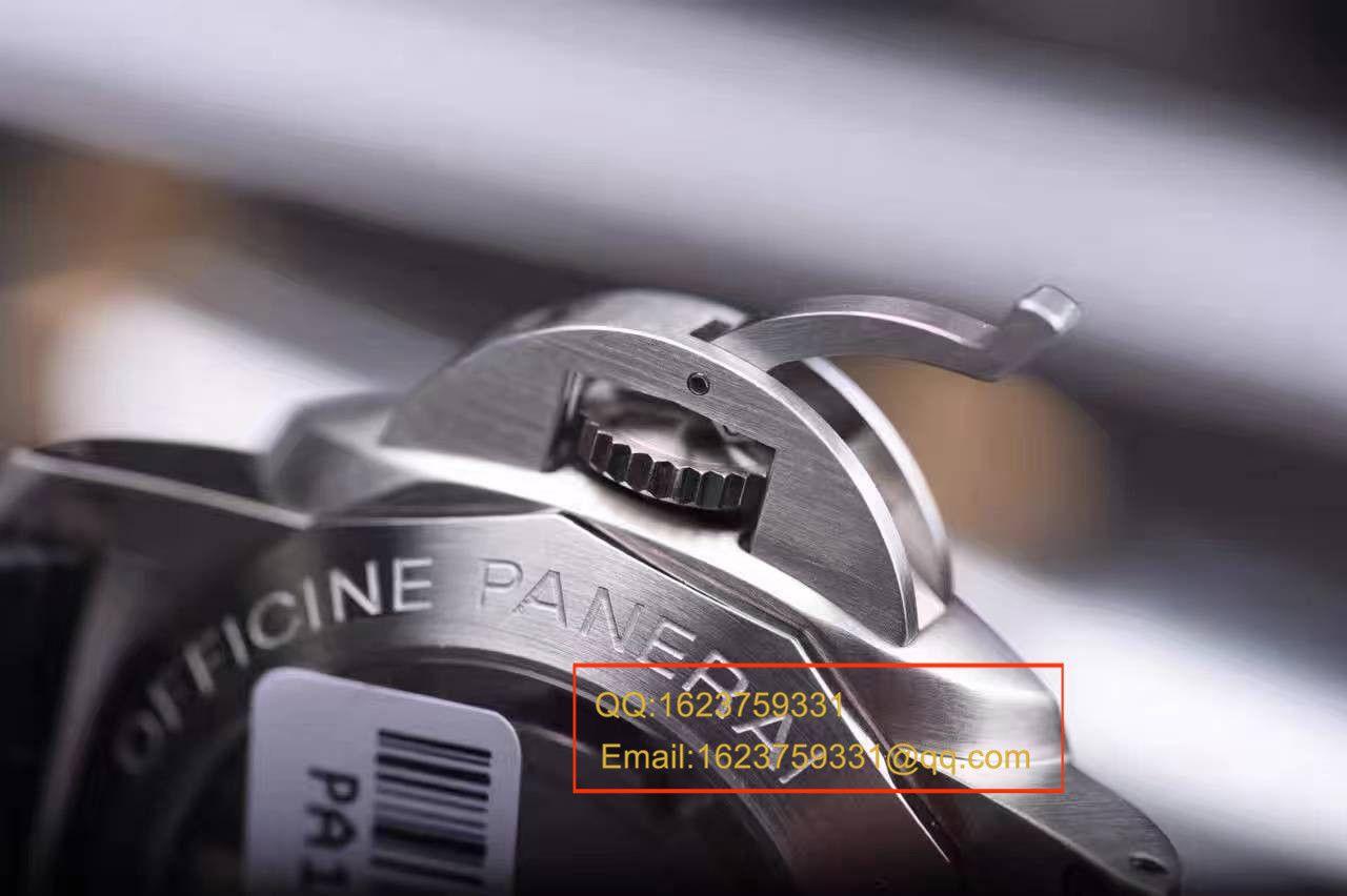 视频评测Panerai沛纳海LUMINOR 1950系列PAM 00312腕表【VS一比一复刻手表】 / VSPAM00312MM