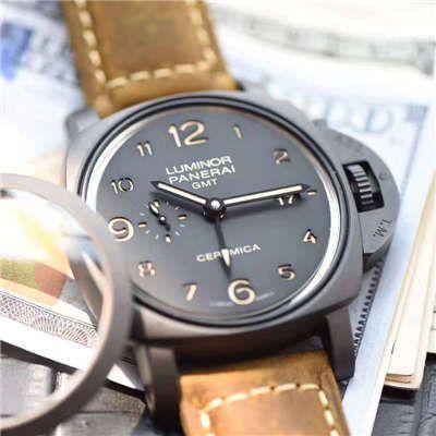 沛纳海LUMINOR 1950系列PAM00441腕表【VS一比一超A高仿手表】视频评测VS全新升级V2版爆款LUMINOR 1950神器PAM00441