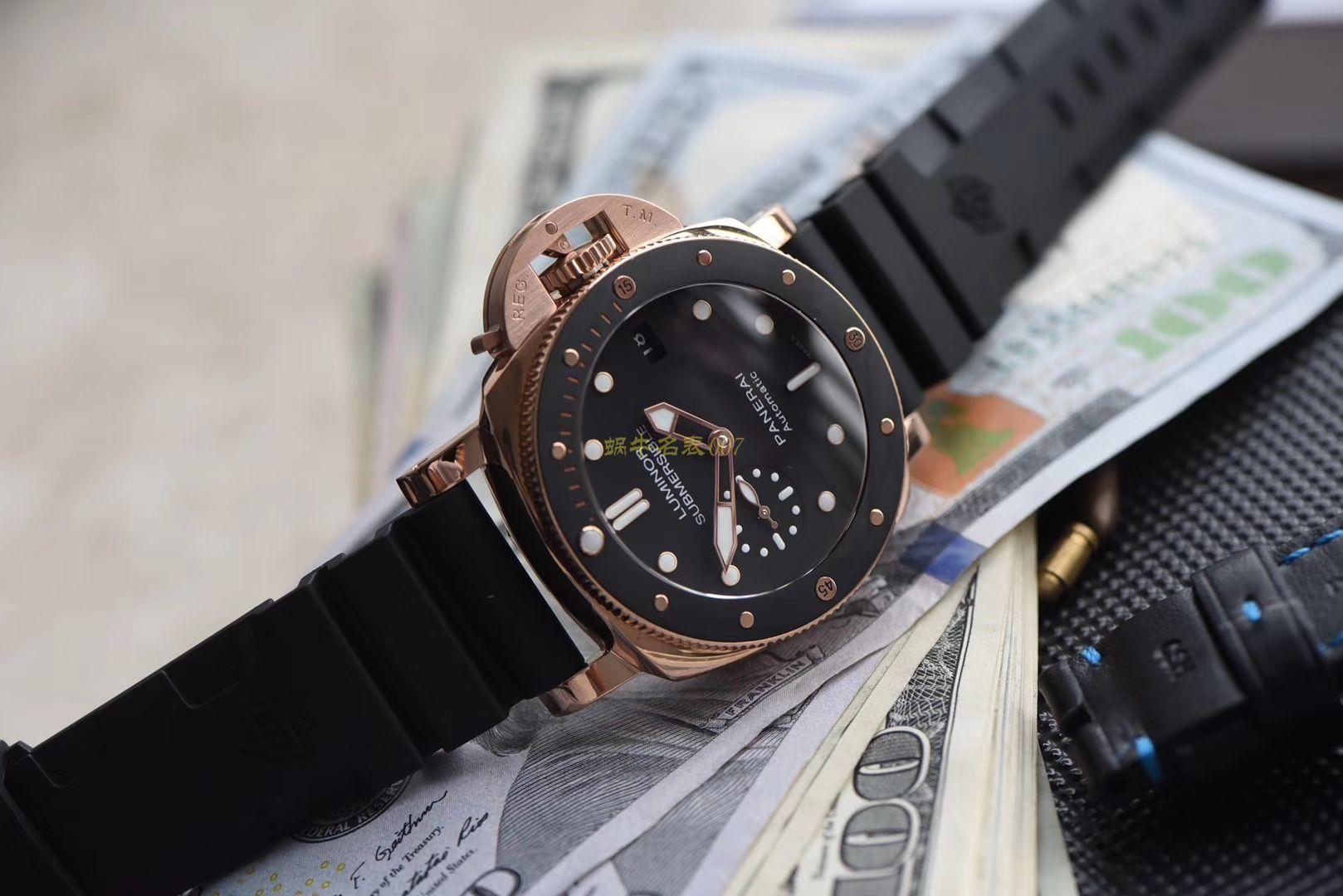 沛纳海SUBMERSIBLE 潜行系列PAM00684腕表超A高仿手表【XF厂PAM684~霍建华广告代言同款】
