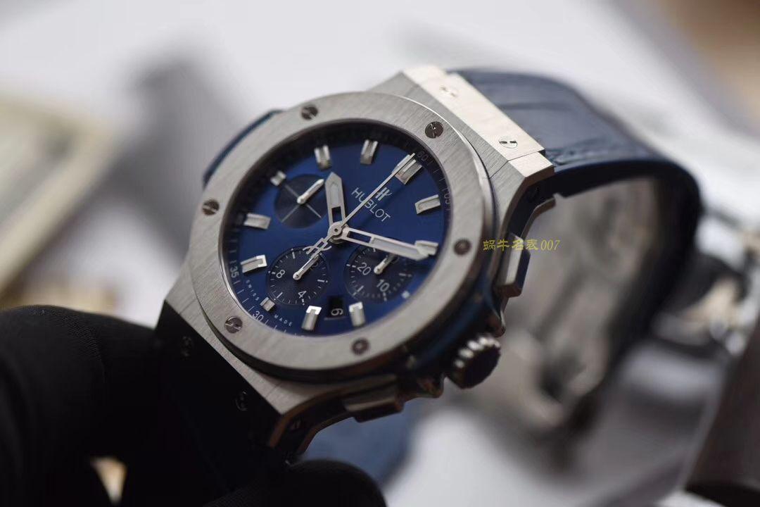 HBBv6新款宇舶大爆炸HUBLOT   Big Bang 精钢蓝色 腕表