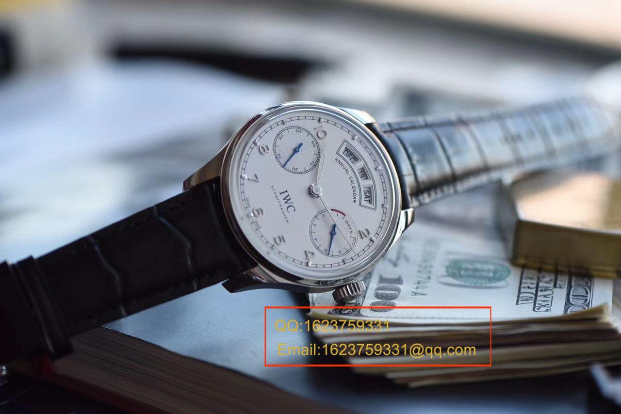 视频评测IWC万国表葡萄牙系列IW503501腕表YL厂一比一超A高仿万国年历手表【年度万国巨献!到货市面最高版本】