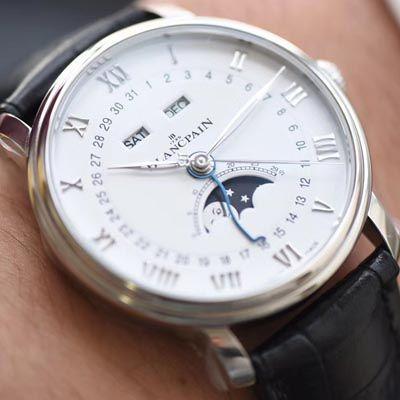 视频评测宝珀经典系列6654-1127-55B腕表OM一比一精仿手表【OM 宝铂6654最强V2升级版】