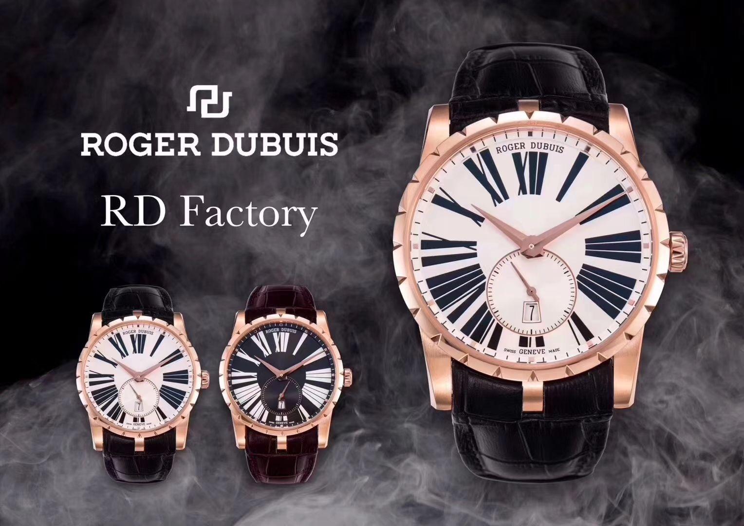 视频评测ROGER DUBUIS罗杰杜彼EXCALIBUR(王者系列)系列DBEX0535腕表【RD一比一高仿手表】