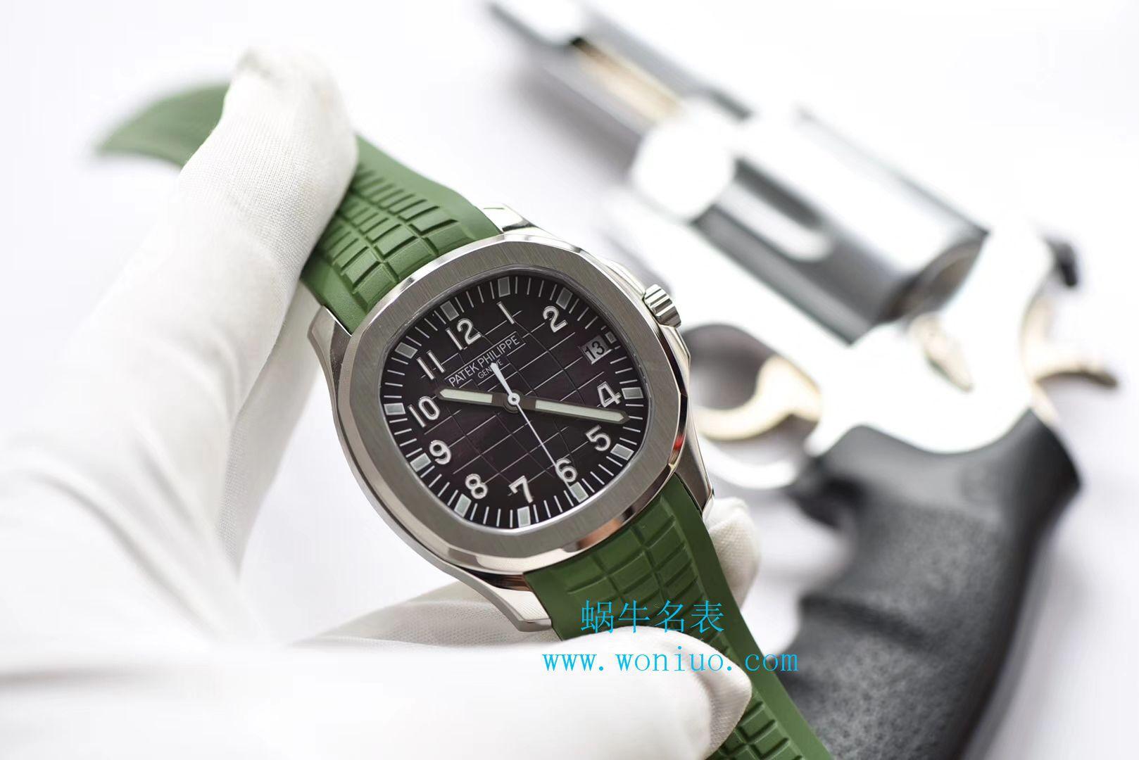 视频评测百达翡丽AQUANAUT系列5167A-001腕表【PF一比一精仿百达翡丽手雷手表】