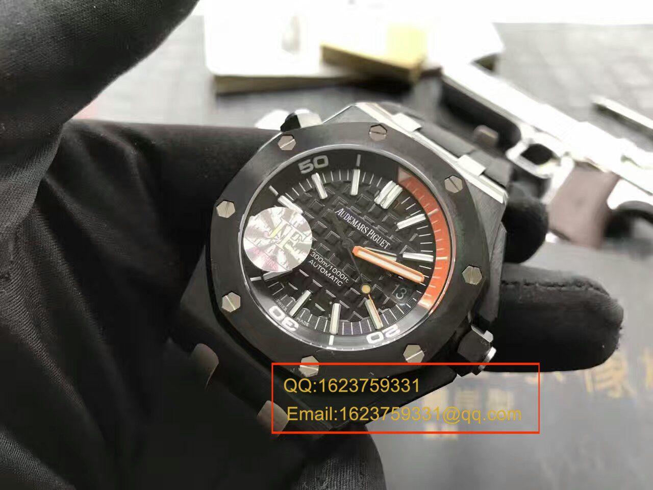 视频评测Audemars Piguet爱彼皇家橡树离岸型系列15707CE.OO.A002CA.01腕表【JF厂一比一超A高仿】
