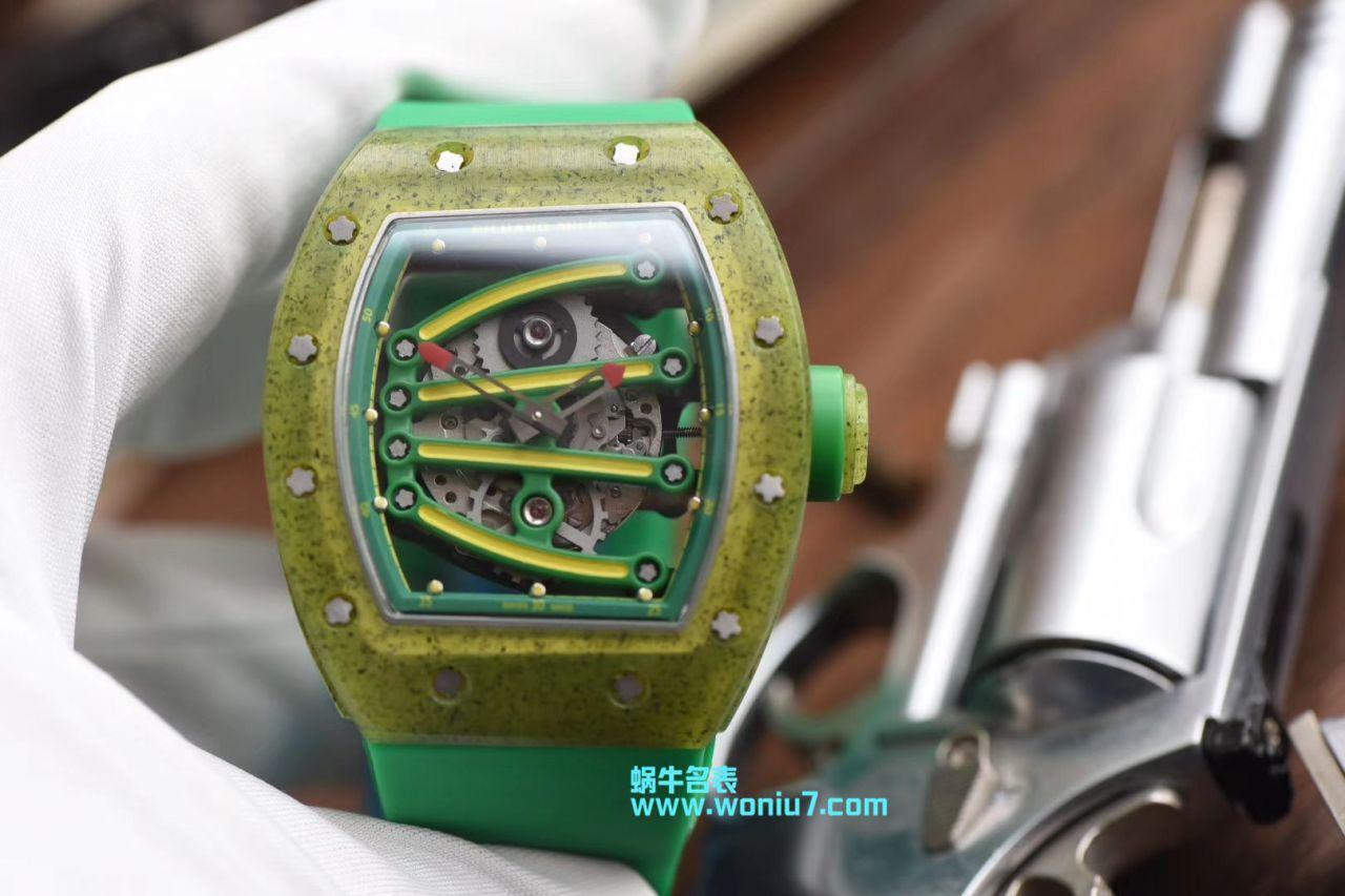 理查德米勒男士系列RM 59-01 YOHAN BLAKE腕表【RM一比一高仿RICHARD MILLE理查德RM59-01奇异果手表】 / RM 59-01MM