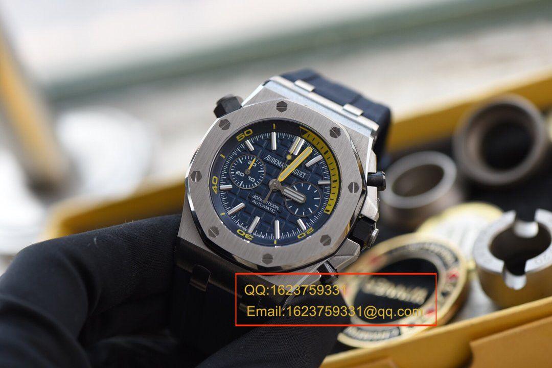 视频评测JF厂一比一超A高仿爱彼皇家橡树离岸型系列26703ST.OO.A027CA.01腕表/爱彼蓝莓