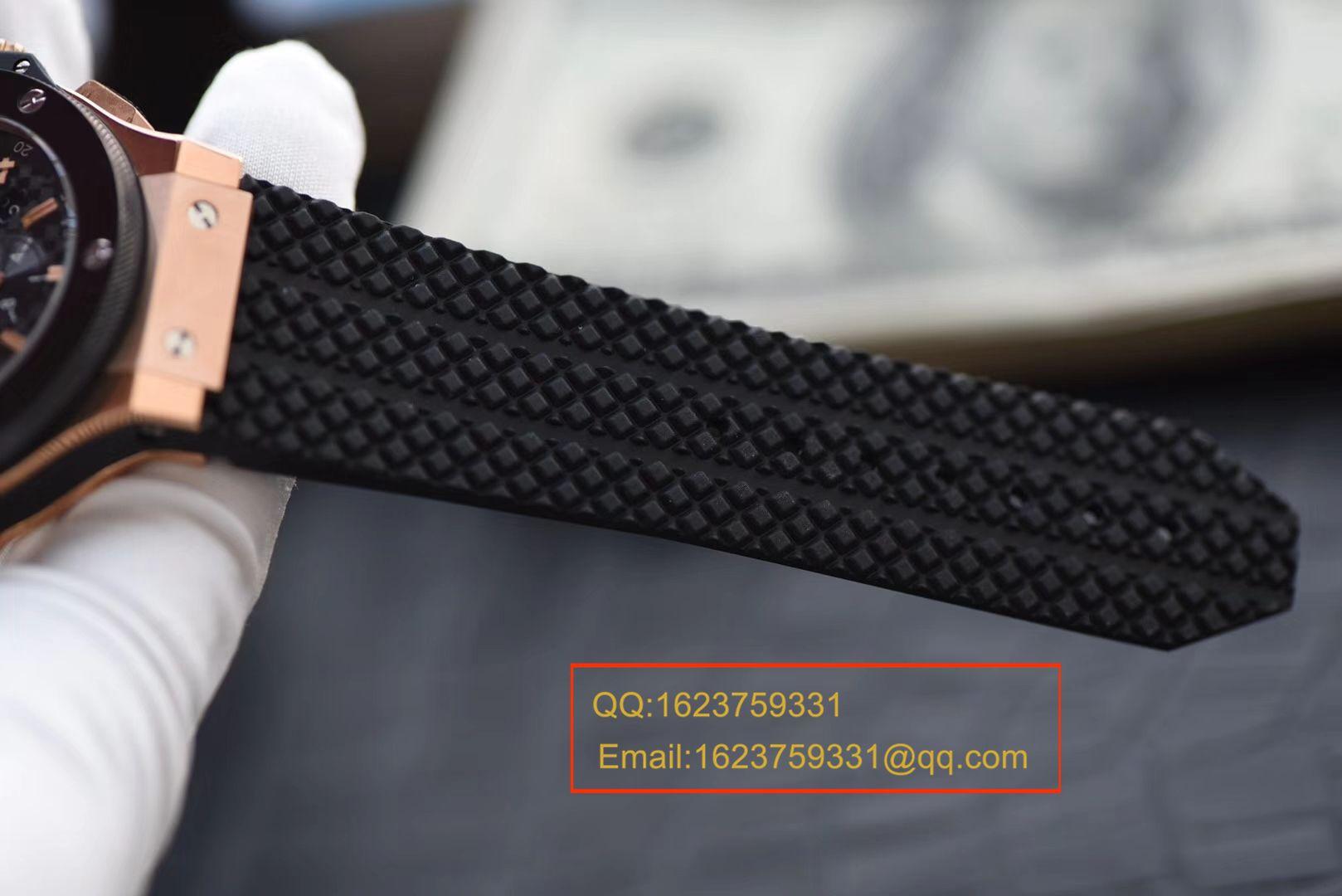 视频评测Hublot宇舶BIG BANG系列301.PB.131.RX腕表一比一超A复刻【V6出品最高版本宇舶大爆炸金壳陶瓷圈】