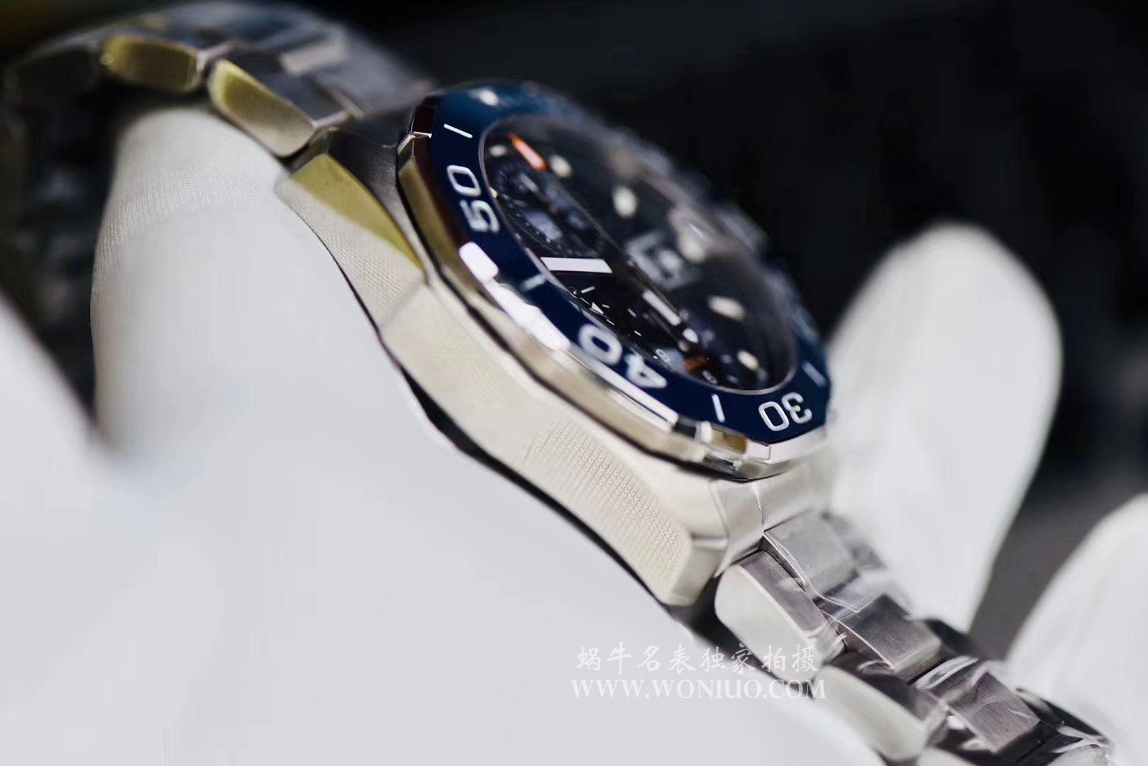 视频评测泰格豪雅竞潜系列原单计时机械表泰格豪雅竞潜系列CAY211B.BA0927,CAY211A.BA0927腕表 / TG034MM