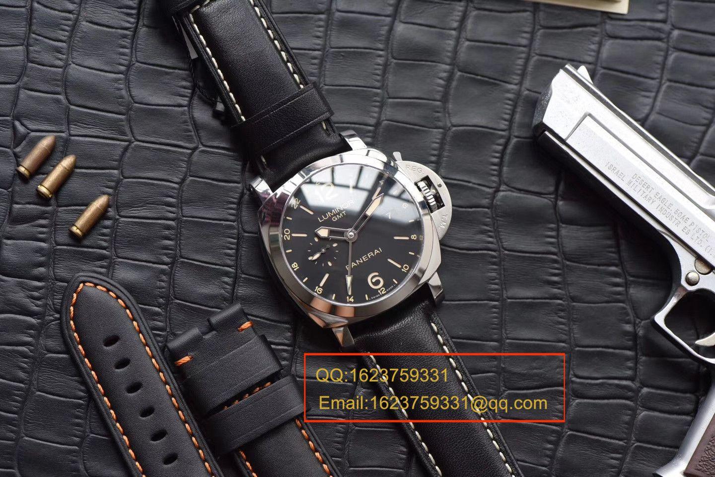 视频评测沛纳海LUMINOR 1950系列PAM00531腕表一比一高仿手表【VS出品,PAM531  GMT 两地时】
